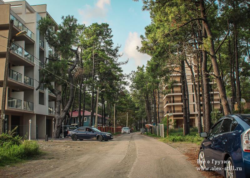 Красивые расположения апартаментов
