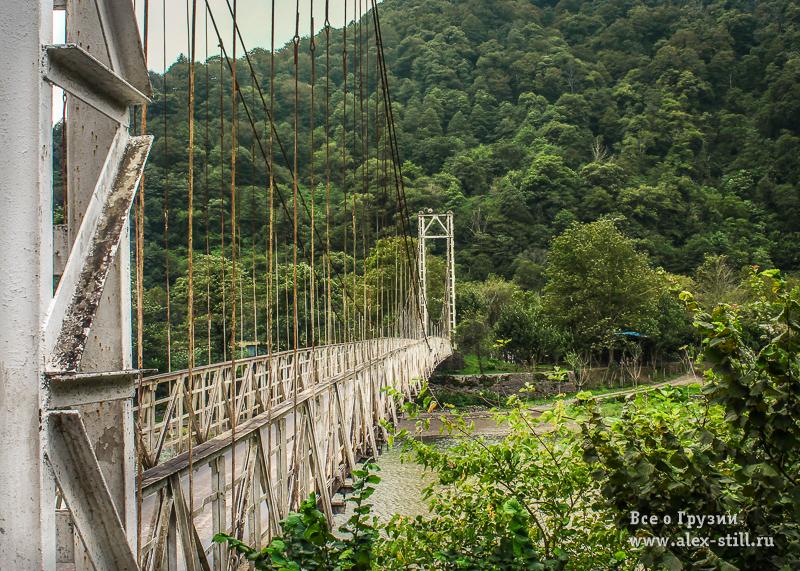 Мост в нацпарке Мачахела
