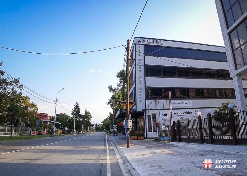 Отель в Кобулети Грузия