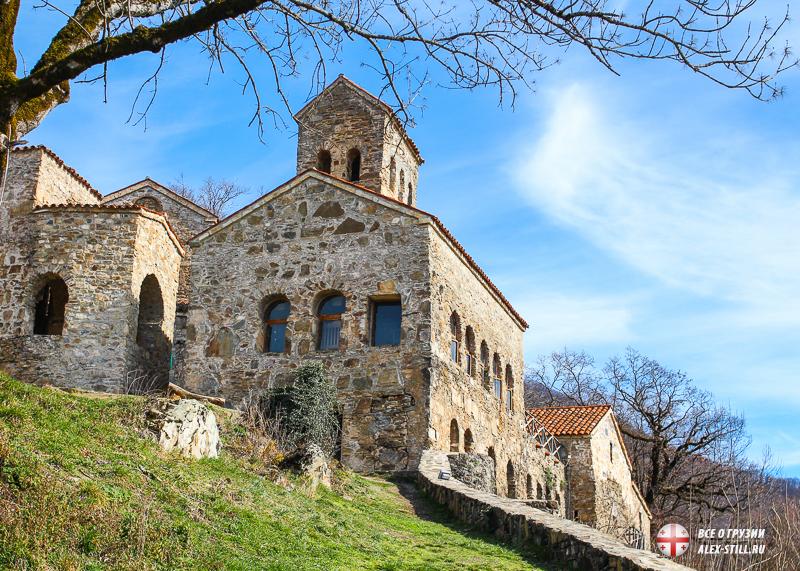 Самый необычный монастырь в Кахетии