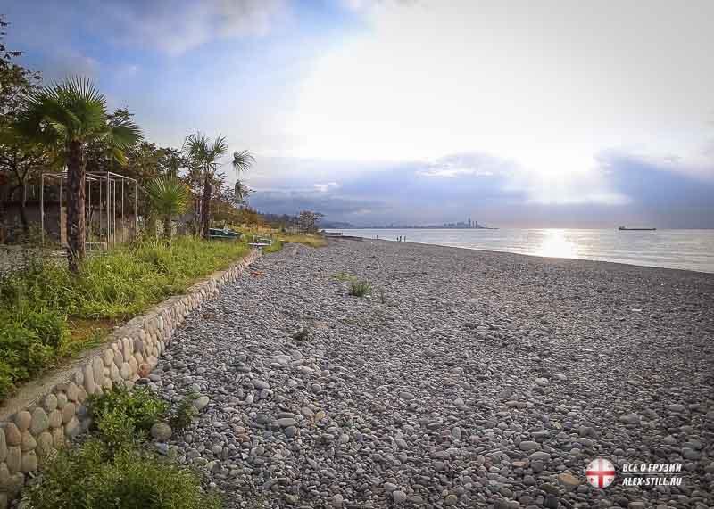 Мцване Концхи - отдых на черноморском побережье