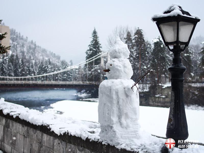 Что происходит в Боржоми в зимнее время года