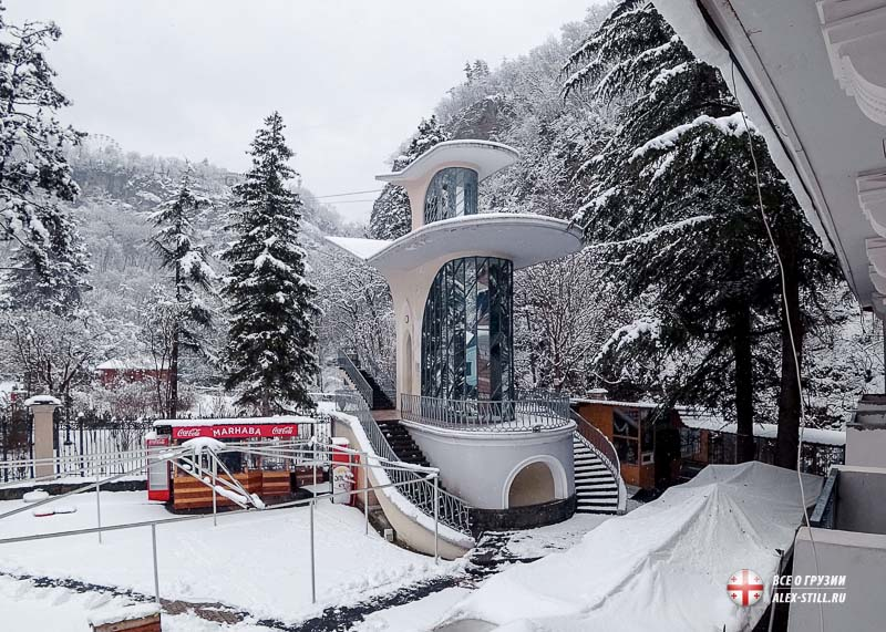 Зимнее время года в Грузии