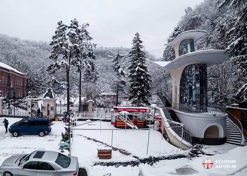 Как выглядит зимняя Грузия