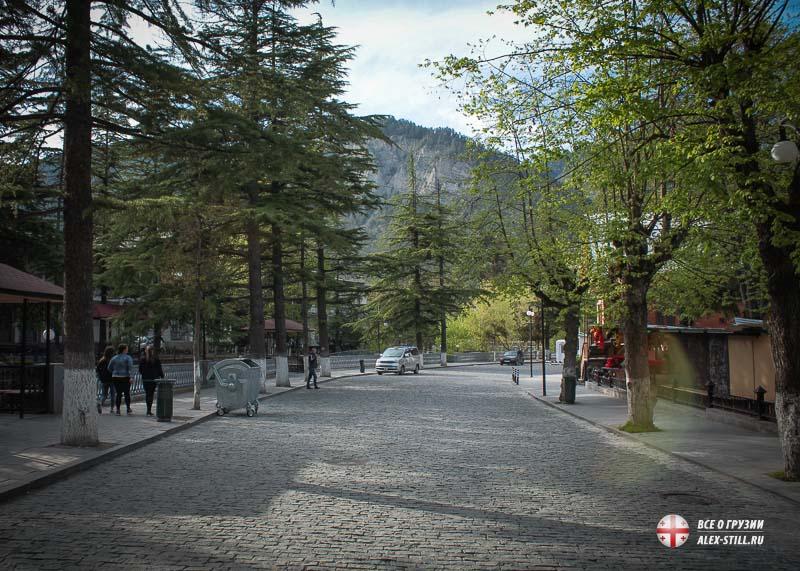Экологически чистые районы Грузии