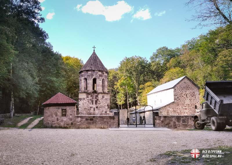 Архитектура прошлых веков в Грузии