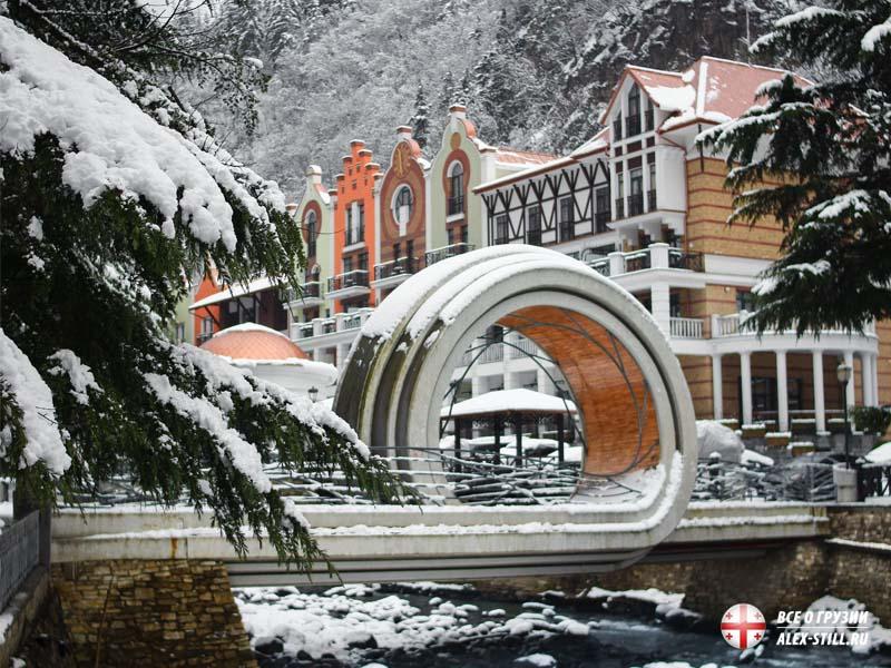 Что из себя представляет Грузия в зимой