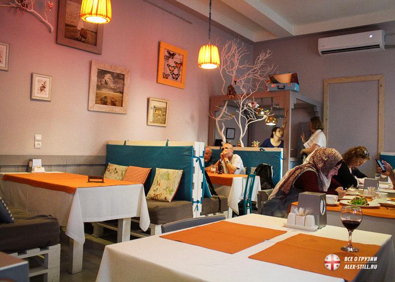 Топ ресторанов в Грузии