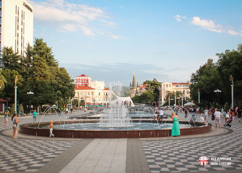 Главные достопримечательности Батуми в Грузии